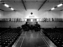 Photo:The sports hall