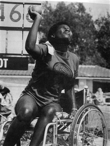 Photo:Newly-independent Zimbabwe competed for the first time as an Olympic nation at Stoke Mandeville in 1984